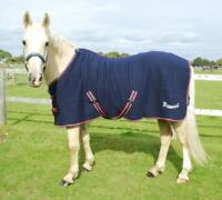 Rhinegold Premium Tech Celltex Stable Cooler Travel Rug in Navy