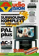 Film-Zeitschrift # Home Entertainment # AudioVision # Heft 02/1996 # März-April