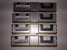 """""""LOT of 4"""" M395T5750EZ4-CE66 4X2GB 8GB Total DDR2 667MHz PC2-5300F ECC FB 2Rx4"""
