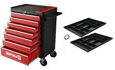 Chariot  d'atelier 7 tiroirs + 2 organiseurs