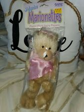 Ganz Princess Bear Mystic Marionettes String Plush Puppet 9 inch New