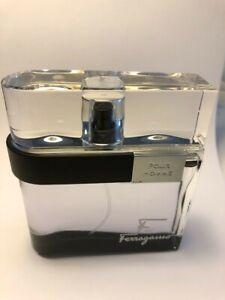 F Black by Salvatore Ferragamo Eau De Toilette Spray 100 ml