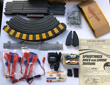 Vintage Matchbox Speedtrack Race & Chase Set w/ Box & 2 Cars EXCELLENT CONDITION