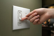 Light Switch Guard (3 Clear-Shields) - Toggle/Standard Switch Safety Cover