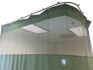Medical Curtains Privacy Hospital Cubicle Curtain Flexible Track 10 Ft W x 9.3 F