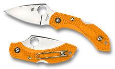 Spyderco Dragonfly 2 Orange Knife Vg10 Made in Japan Seki Hunting Camping