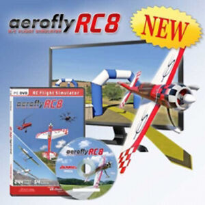 Flugsimulator ikarus AeroFlyRC8 - Aero Fly RC 8 - Software DVD - ganz neu!
