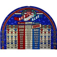 IGT Top Glass, Five Times Pay Red White Blue (81130000)