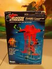 1990 KENNER SHADOW STRIKERS PHASE 1 CONVERTER UNUSED STICKER SHEETS! Toy guide!