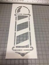 Barber Pole Stencil