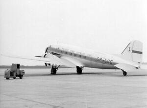 LOT, Douglas C-47A-70-DL, SP-LCE - original photograph