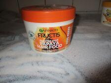 Garnier Fructis Food Papaya Regenerating HAir Mask Damaged Rebuildable.390ml