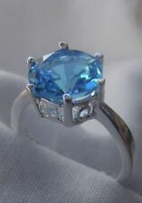 Unbranded Topaz Solitaire Fashion Rings