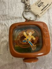 Woody TV Keychain Toy Story New Applause