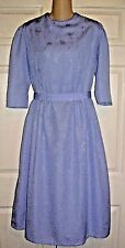 """Amish Mennonite Modest Cape Dress Homemade 38""""Bust /to 32"""" Waist OOAK Holiday"""