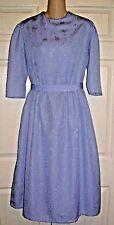 "Mennonite Modest Homemade Cape Dress 38""Bust /to 32"" Waist OOAK"