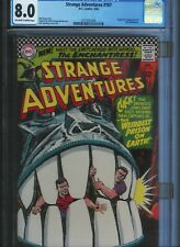 CGC 8.0 STRANGE ADVENTURES #187 1ST APPEARANCE ENCHANTRESS O/W TO WHITE PAGES