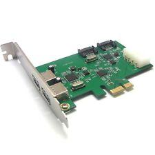 Usb 3.0 + sata III 6 Gbit s v2.0 pci express x1 slot-Carte Contrôleur + sata power