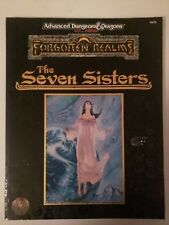 THE SEVEN SISTERS Forgotten Realms Advanced Dungeons Dragons 9475 TSR 1995