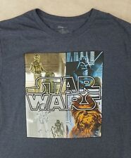 Disney Star Wars the Movie Mens T-shirt Size XXL Genuine Authentic Disney Store