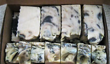 3+ lbs. All-Natural Handmade Lavender Soap Half Bars Unisex - NEW/SALE!!!