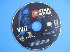LEGO Star Wars: The Complete Saga Nintendo Wii Disc Only *Tested*