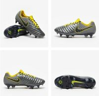 NIKE TIEMPO LEGEND 7 ELITE SG-PRO AC GREY OPTI YELLOW UK 6
