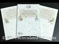 Official Royal Mint 2016 2017 2018 Beatrix Potter 50p Coin Collector Albums Set