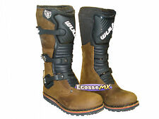 NEW Wulfsport Trials Boots UK 7 EURO 41 Brown Quad Trail Beta Gasgas