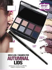 Avon 8-in-1 Eyeshadow Palette Nudes and Blues BNIB