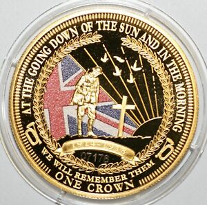 Tristan Da Cunha Various Commemorative Crown Sized Coins. Your Choice of Date