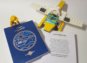 Baby shower gift Flight log Children Journals World map party pack Eco-Friendly