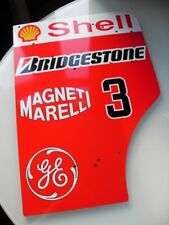 MICHAEL SCHUMACHER WORLD CHAMPION FULL SIZE FERRARI F1 2000 REPLICA ENDPLATE