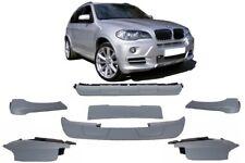 BMW X5 E70 Bumper M Spoiler Aerodynamic Package Performance Aero Body Kit Sport