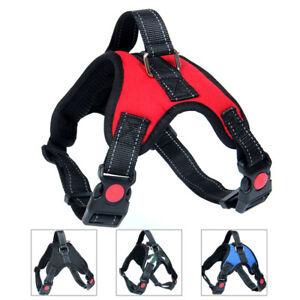 Dog Harness Non-Pull Adjustable Pet Puppy Walking Strap Vest Soft Chest Belt