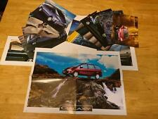 1995 Ford Galaxy Launch Introduction Photo Card Set Brochure inc. Poster