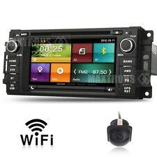 Car DVD Stereo GPS Navi Headunit for Jeep Dodge Chrysler 300C WIFI Free Camera