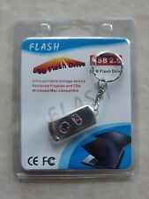 Keychain USB  Flash Drives 2GB Metal Pen Drive Memory Stick U Disk Storage US