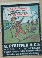 39277 Vignette Anuncio G. Pfeiffer & Cie Stuttgart Togapori Niños En Prado