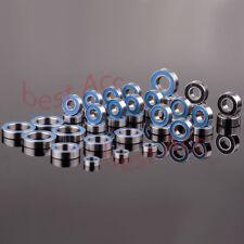 39PCS Metric Blue Rubber Sealed Traxxas REVO 3.3 Racing Ball Bearing KIT RC