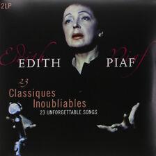 EDITH PIAF 23 CLASSIQUES INOUBLIABLES CLASSICS LP VINYL NEW (US) 33RPM