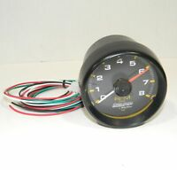 "Autometer Tachometer Auto Gage 8000 rpm 3 3/4"" P/N 2300 EXC CONDITION"
