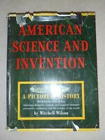 Vintage book--American Science and Invention: A Pictorial History Technology