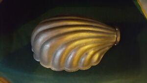 Original Art Deco shell lamp light shade for 'bendy' desk lamp