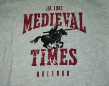 MEDIEVAL TIMES Orlando 100% Cotton Size S small T-Shirt new and unworn