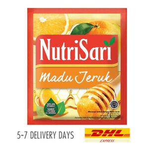[NUTRISARI] Vitamin C Mineral Halal Drink Powder Sachet Honey Orange 40x14g