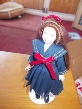 GRAZIOSA Ragazza Vittoriana per una casa delle bambole