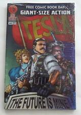 New 2014 FREE COMIC BOOK DAY RED GIANT SIZE 4-PACK BUNDLE SEALED TESLA