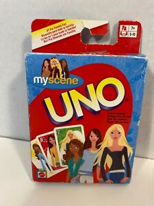Uno My Scene Barbie Edition by Mattel 2005 Complete NO Rules Sheet