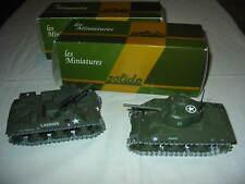 SOLIDO PRIEST M7 SHERMAN M4 CHAR MILITAIRE US 1/50 BOITE LOT